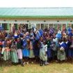 Entrega de las Compresas reutilizables a las niñas